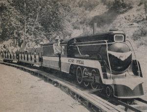 Santa Ana Canyon Miniature Railroad - IBLS